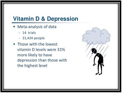 Vitamin D & Depression